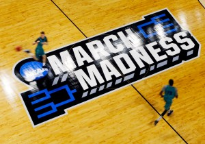 Mar 16, 2016; Providence , RI, USA; UNC- Wilmington practices a day before the first round of the NCAA men's college basketball tournament at Dunkin Donuts Center. Mandatory Credit: Winslow Townson-USA TODAY Sports