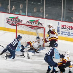 Photo by; John Konstantaras Chicago Wolves
