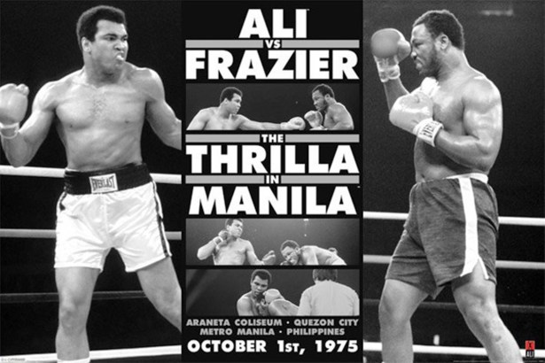 MMuhammad Ali vs. Joe Frazier in Thrilla in Manila