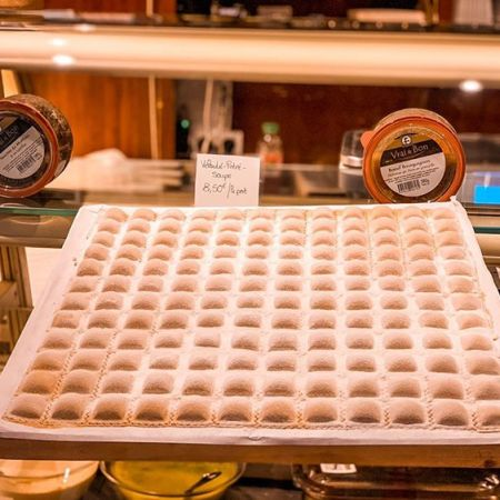 ravioli niçois, spécialité artichaut ricotta ail basilic