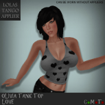 Olivia Tank Top Love