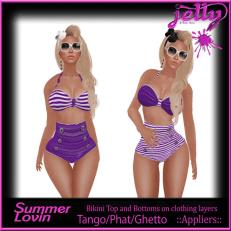 Jelly Summer Lovin Purple Ad