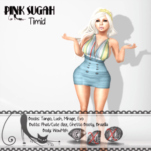 .__Pink Sugah__. Timid - LJ June