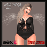 Web Wings - White AD