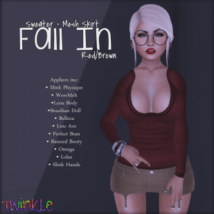Fall In - Red&Brown