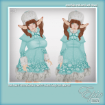 _Epic_ Snowflake Aristocrat Coat Dress {Ice} Ad