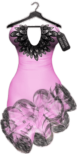TD Salsa Dress with Appliers - Pink
