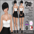 Tameless Clothing Package Hands Off - Black