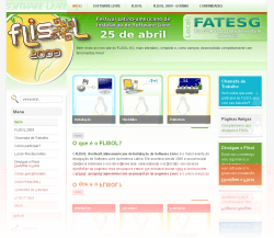 thumb website Flisol Goiania 2009