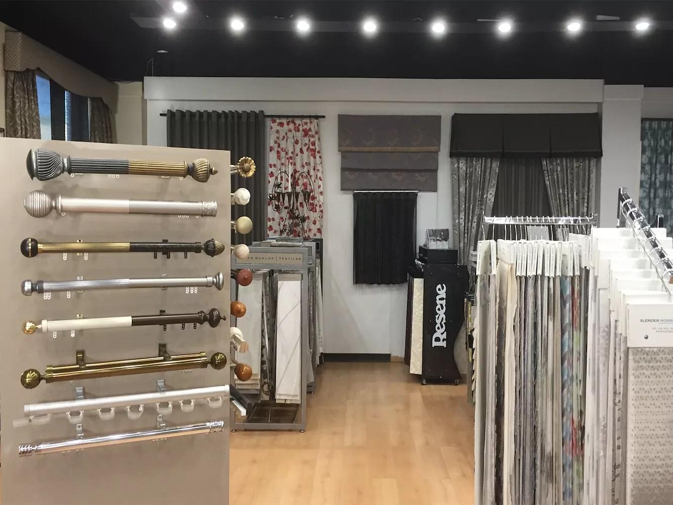 curtains showroom sydney farbics for