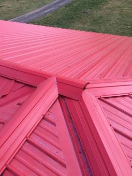 Metal Roof Installation Springfield IL 3 | Cleeton Construction Inc