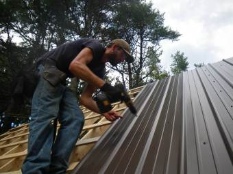 Metal Roof Installation Springfield IL 5 | Cleeton Construction Inc