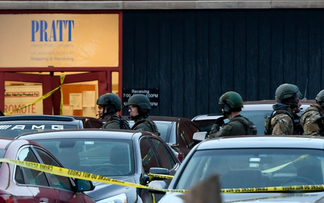 Workforce Violence Shooting In Aurora, Illinois