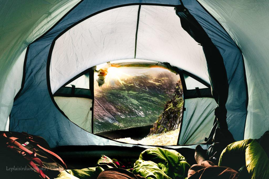 nuit Voyage Norvège van road trip FREED HOME CAMPER