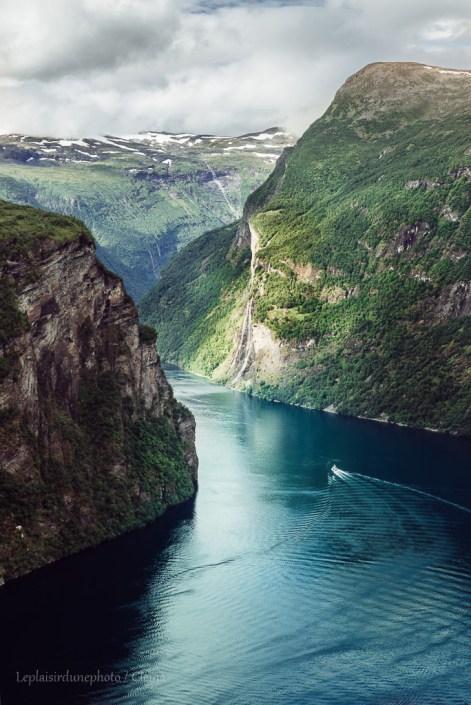 Route des Trolls Van Norvège Geiranger