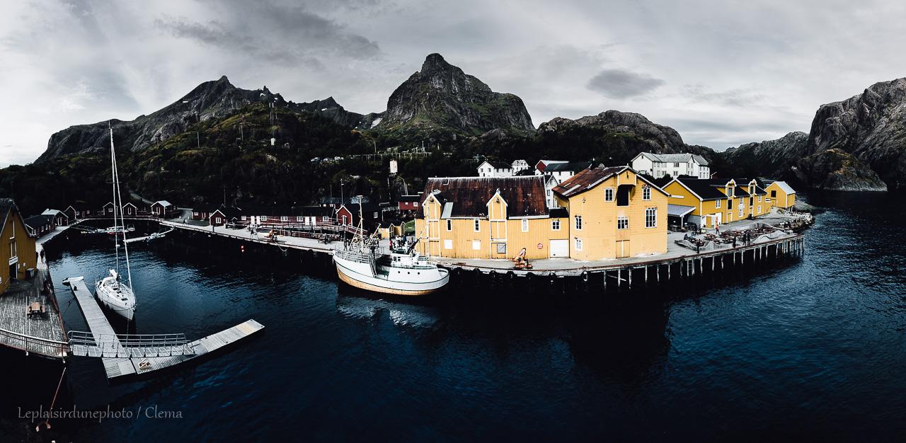 feu Nusfjord Norvège itinérance voyage