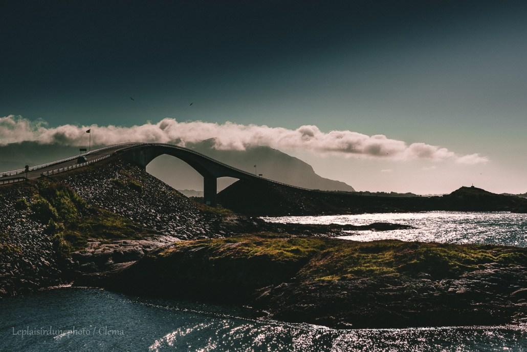 Storseisundet pont Norvège van