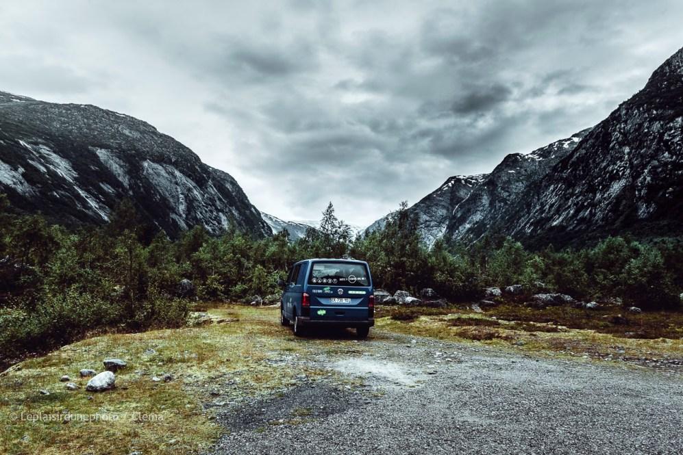 Norvège VAN Jostedal glacier