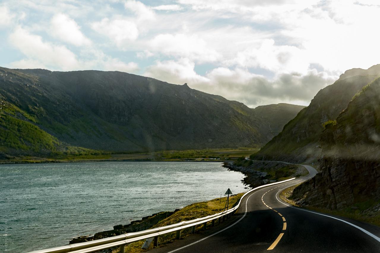 Senja Norvège van voyage Finnsnes