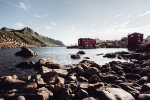 Nyksund urbex village abandonné Vesteralen van Norvège