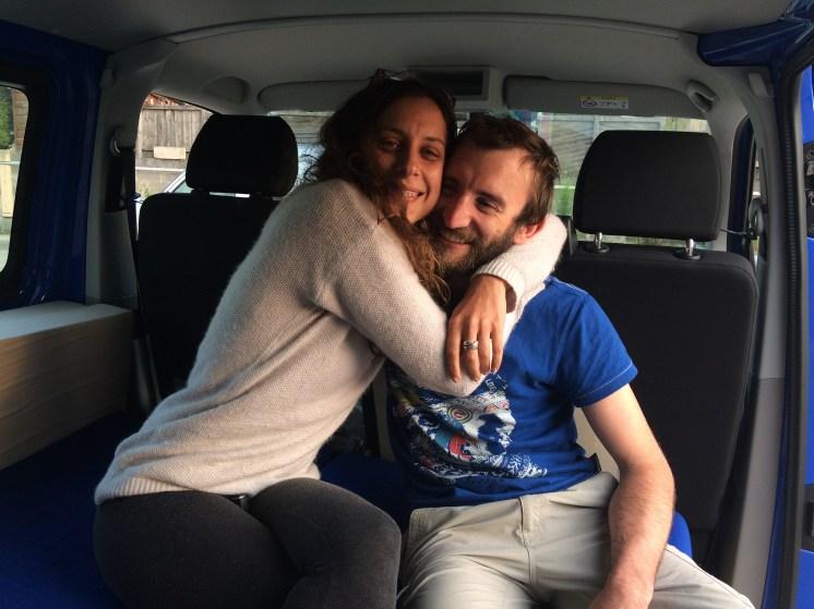 Retour à Jossigny, Paris, van, Freed Home Camper