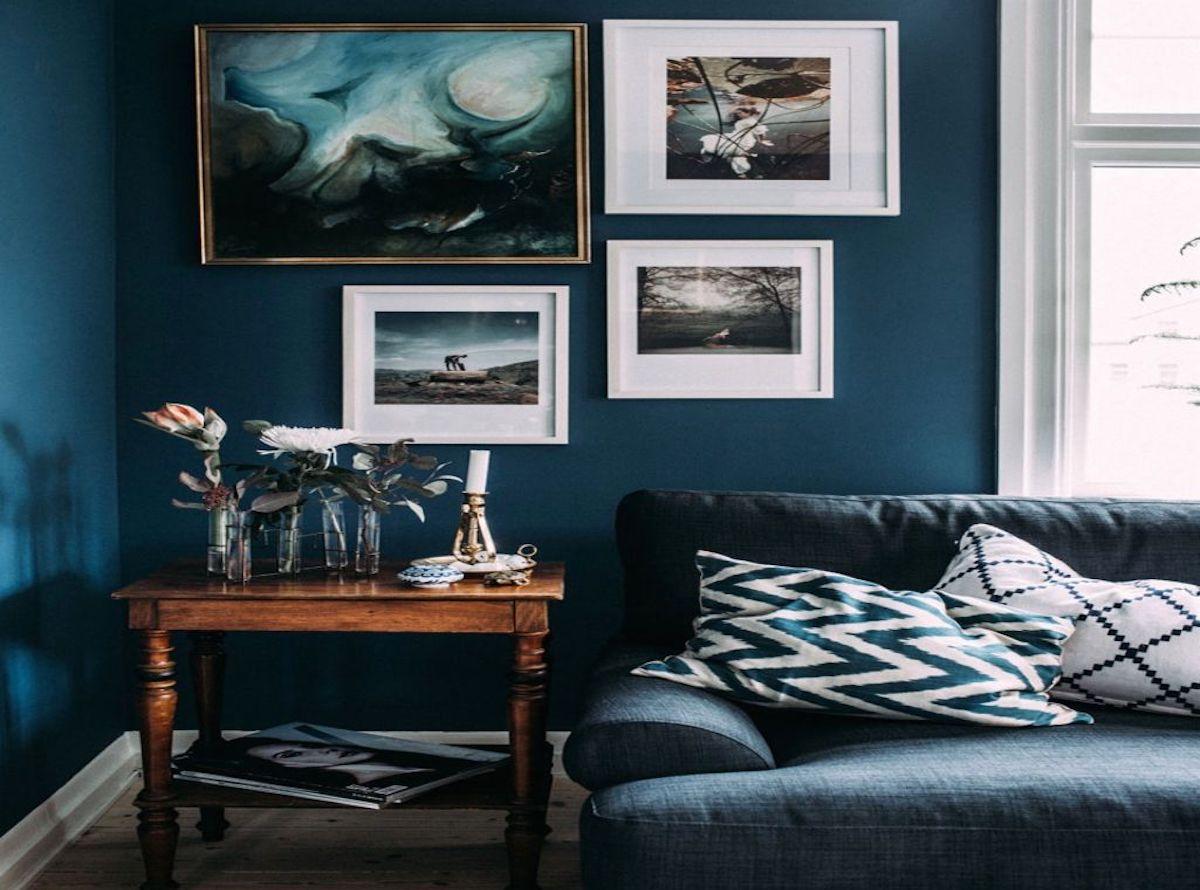 canape bleu canard best of decoration bleu avec salon idee gris blanc et 3 cuisine idees