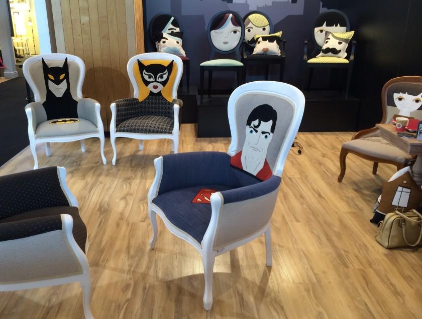 Des Chaises Super Hros Blog Dco Design Clem Around