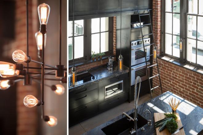 Cuisine indus style industriel à San Francisco - Blog déco et ...