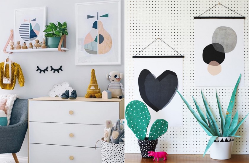 Affiche scandinave : adresses et astuces déco - Clem Around The Corner