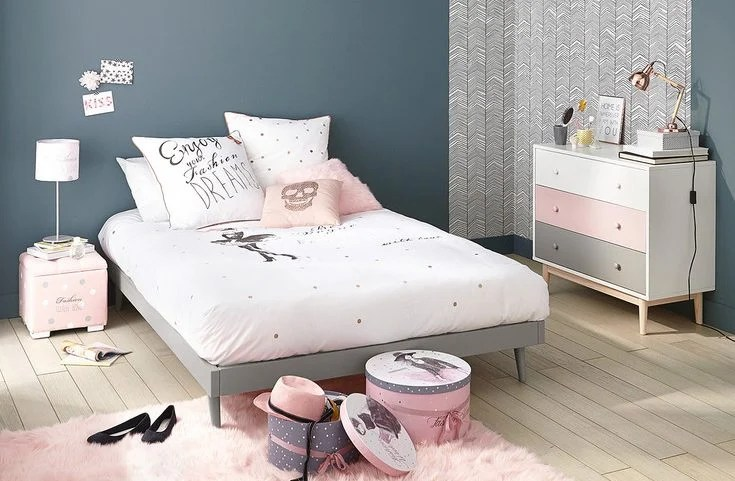 Id    e d    co chambre fille   Blog Deco   Clem Around The Corner Inspiration id    e d    co chambre fille