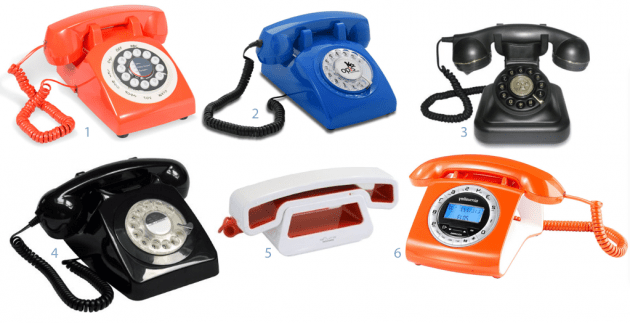 ou trouver un telephone retro