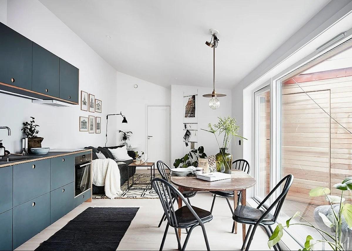 Visite Appartement Style Nordique Scandinave Studio