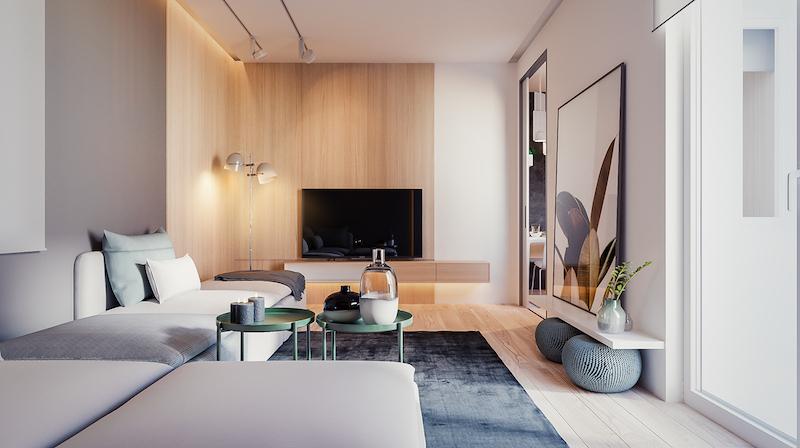 Un duplex au design épuré planete deco a homes world decor