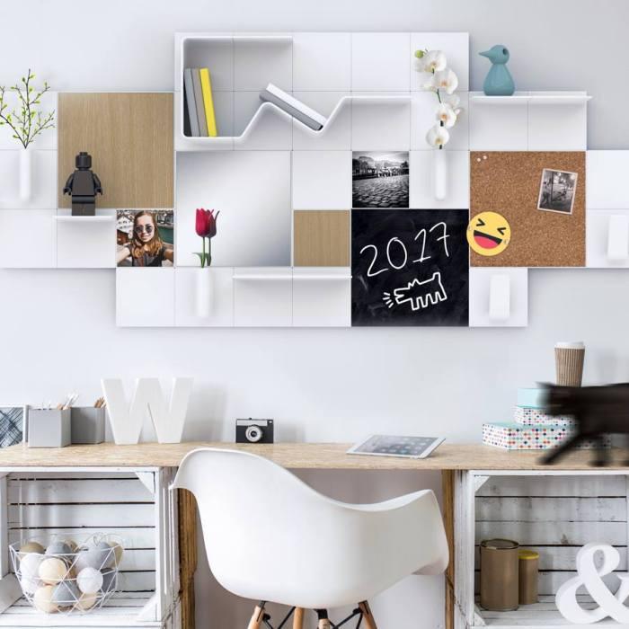 organisateur mural o le trouver et comment le fabriquer. Black Bedroom Furniture Sets. Home Design Ideas