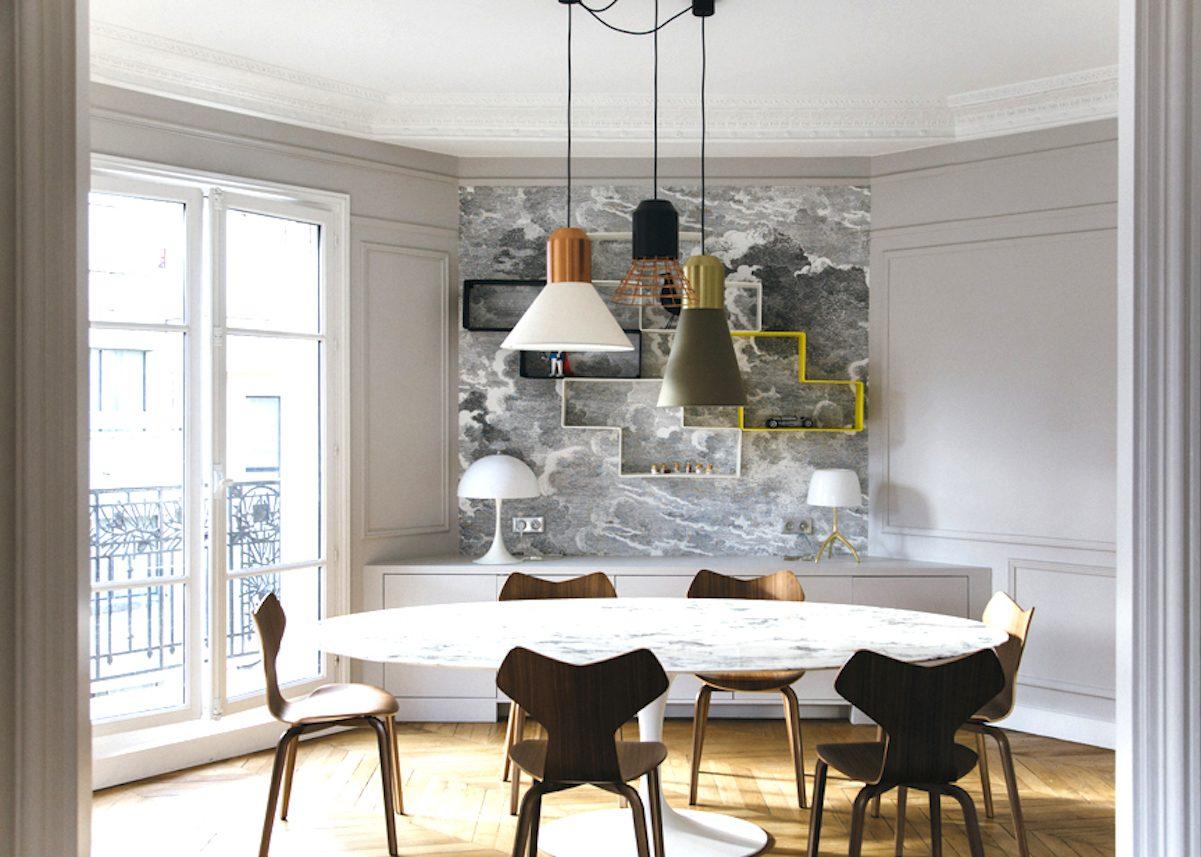 Appartement Haussmannien Moderne Visite Dco Blog