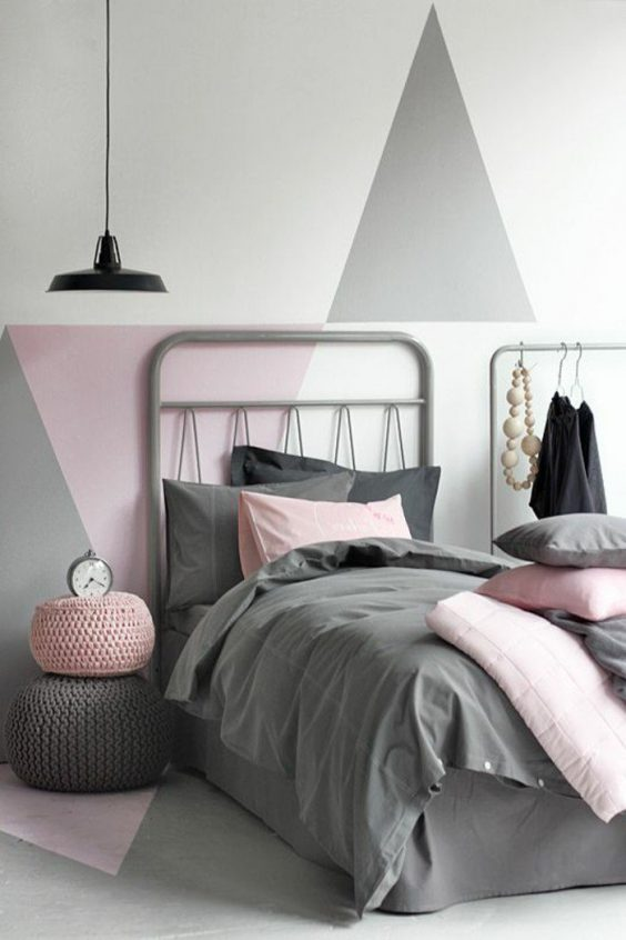 Créer une tete de lit en peinture : 20 inspirations canons - ClemATC ...