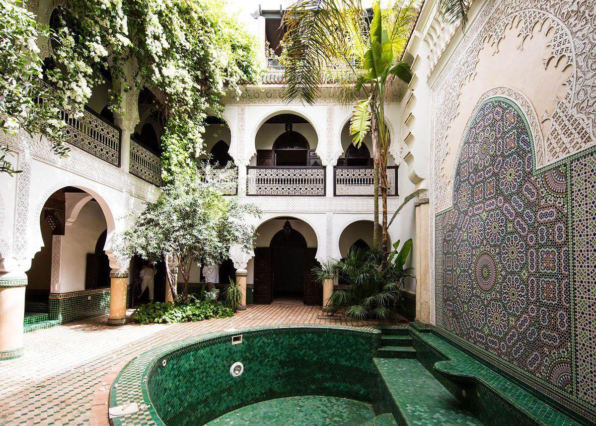 maison marocaine le charme l 39 oriental clem around. Black Bedroom Furniture Sets. Home Design Ideas