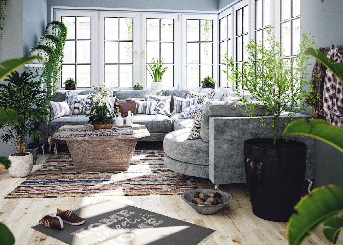 Deco Bucolique Champetre Salon Decoration Printemps Blog Clem Around The  Corner Architecture Interieure