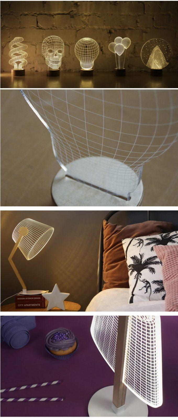 bulbing studio cheha lampe de créateur trompe oeil 2d 3d plate blog déco design clemaroundthecorner