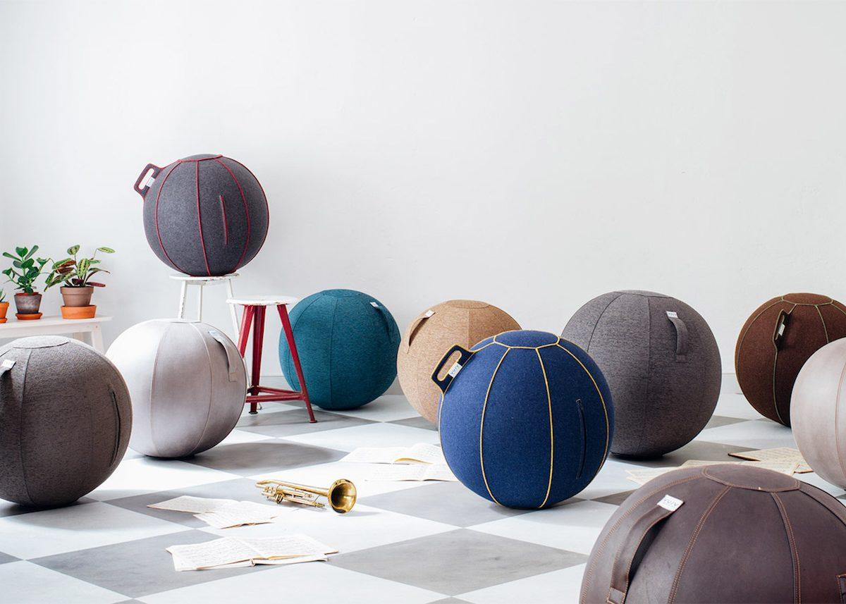 Vluv Yoga Design Fitball Ballon Avis Siège The Around Corner Clem hQCsdtxr