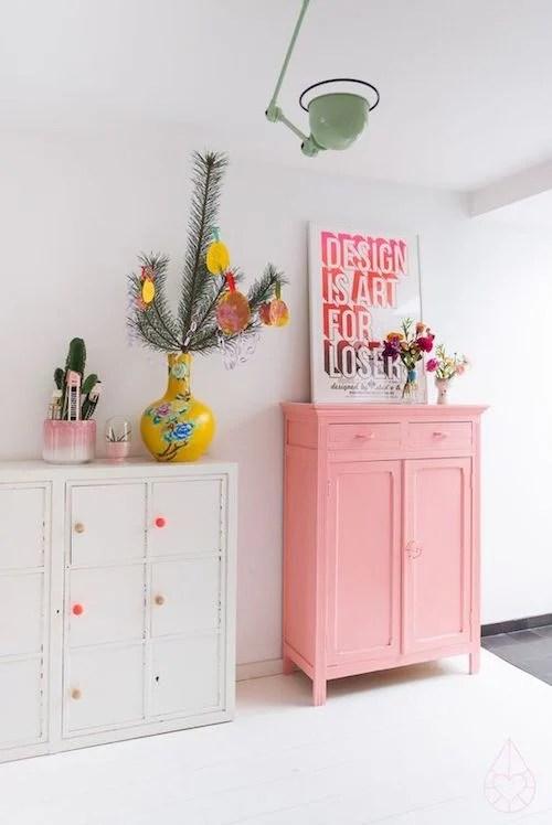 aménager 20m2 meubles relooking rose blanc etsy vintage décoration bricolage