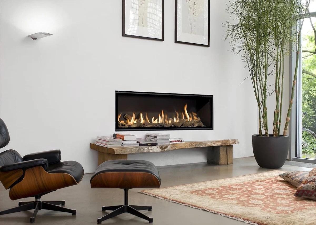 Cheminée Gaz Salon Hygge Lounge Chair Eames Noir Bambou Moderne Blog Déco    Clem Around The