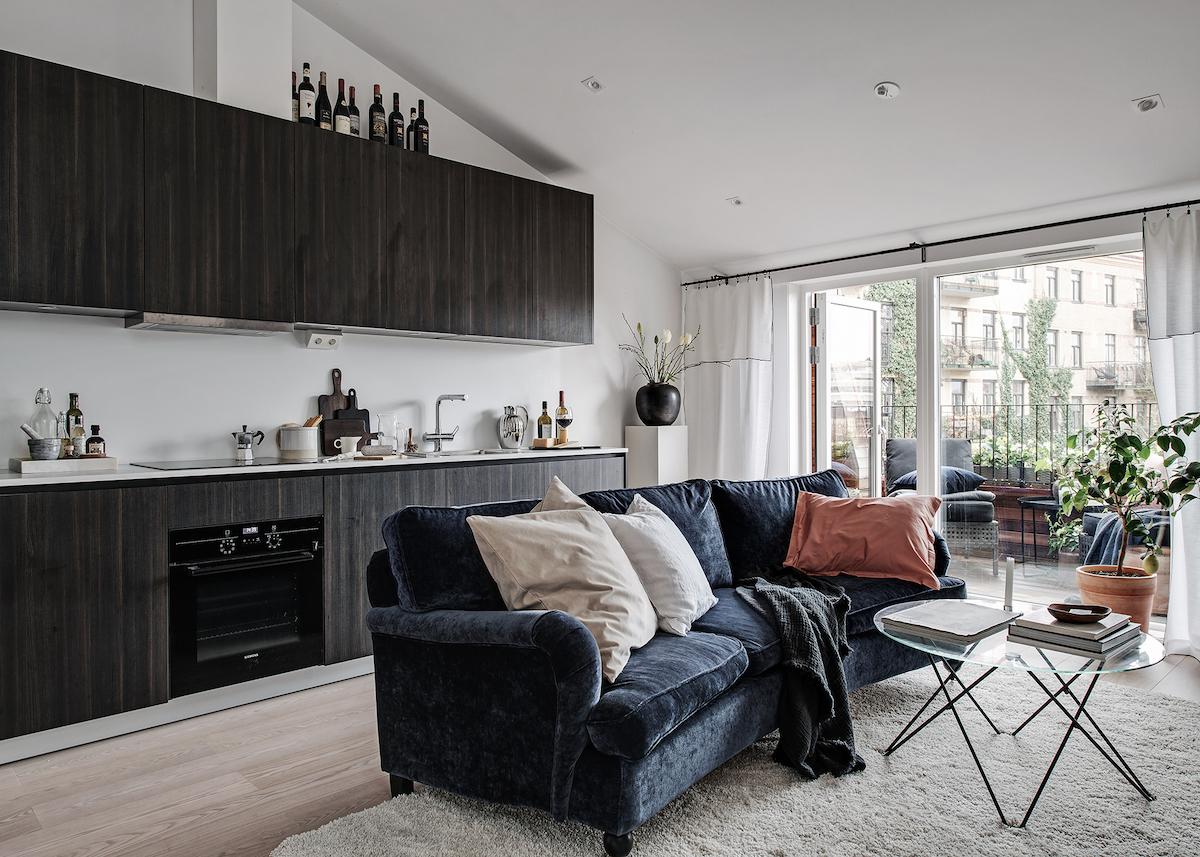 Un studio de 35m2 pour vivre confortablement - Clem Around The ...