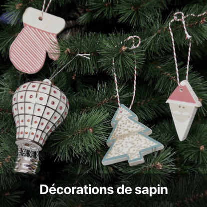 décoration sapin en bois tutoriel - blog diy création déco - clem around the corner
