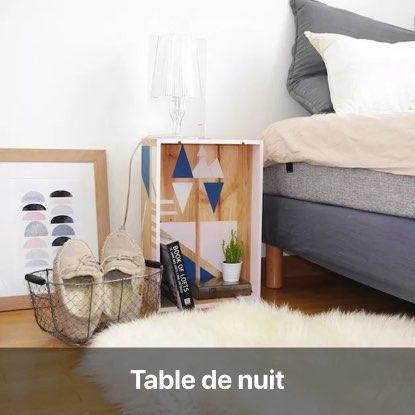 upcycling caisse vin bois table de nuit chevet blog diy décoration intérieur - clem around the corner