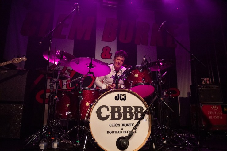 Bootleg Blondie 2019 - Clem Burke Drumming Project