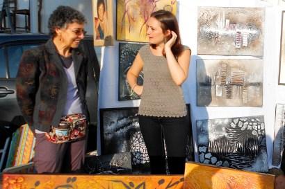 Clémence CARUANA au Vide grenier de Montrabe, le dimanche 1er Septembre 2013