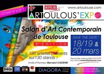 Clémence CARUANA - Art'Toulouse centre des Congrés DIAGORA, Toulouse - Labège Mars 2016