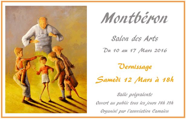 Salon des Arts de Montbéron Mars 2016