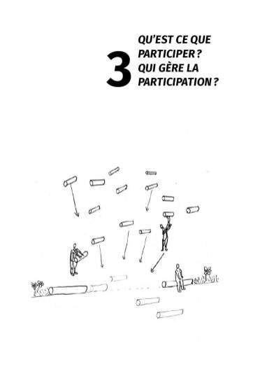 participer spectateur qui gere